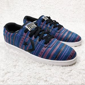 Converse Multicolored Lace Up Shoes